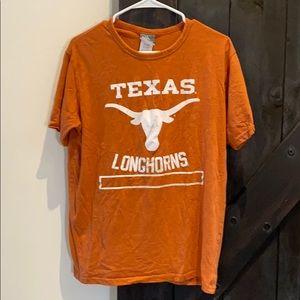 University of Texas orange and white short sleeve